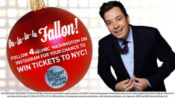 NBCWashington – Win a trip for 2 to New York
