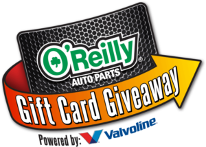 O'Reilly Automotive – Win 1 of 28 O'Reilly Auto Parts $100 gift cards OR thousands of Instant Win Game prizes