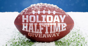 Sport Clips – Holiday Halftime – Win 1 of 12 $500 VISA Gift Cards