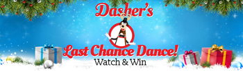 ellentv – Dashers Last Chance Dance – Win a prize pack containing gifts given to The Ellen DeGeneres Shows valued up to $36,000