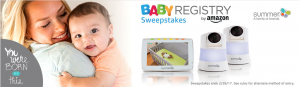 Amazon – Win $2,250 with Baby Registry Summer Infant Sweepstakes