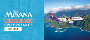 Disney Movie Rewards – Win a 7 days Family Oahu, Hawaiian Vacation, Musical Moana of Oceania Singing Doll, Disney Gift Cards