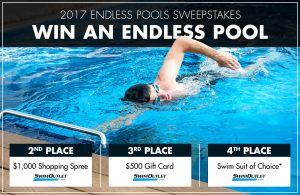 Endless Pools Sweepstakes 2017 – Win an Endless Pool worth $40,000