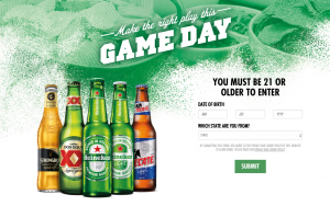 Heineken USA – Win $1,000 Gift Card plus 150 prizes with total value of $45,461.82