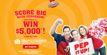 Hormel Foods – Win $5,000 Visa Gift Card with Pepperoni