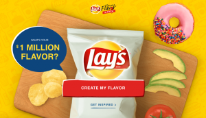 Lay's – Do Us A Flavor The Pitch Contest – Win a $1,000,000 Check