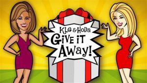 Todays Take – Win 1 of 5 KLG and Hoda prizes each week