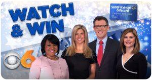 WTVR CBS 6 News – Register to Win a $600 Walmart Gift Card