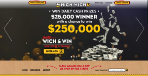 Which Wich Sandwiches – Win $250,000 Cash with Vibe Club Rewards