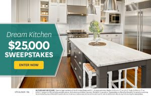 Better Homes and Gardens – Win a Dream Kitchen valued at $25,000
