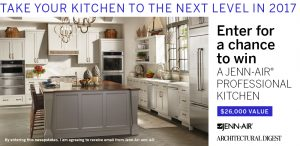 Conde Nast – Jenn-Air Kitchen – Win a suite of Jenn-Air appliances valued at $26,000