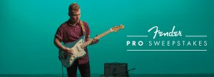 Fender Musical Instruments – Fender Pro – Win an American Professional Trip Experience for 2 to LA OR 1 of 92 Daily Prizes