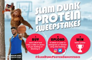 Jack Link's – Slam Dunk Protein – Win a trip for 2 to attend a 2017 Basketball Championship Game valued at $7,250 OR 1 of 40 minor prizes