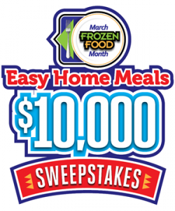 National Frozen & Refrigerated Foods Association – March Frozen Food Month – Win a $5,000 check OR 1 of 5 Weekly prizes valued at $1,000 each