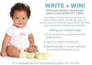 The William Carters – Write a Review – Win 1 of 50 Carter's/OshKosh B'Gosh Gift Cards