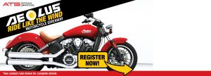 Alliance Tire Americas – Aeolus Ride Like The Wind Motorcycle – Win a 2016 Indian Scout Motorcycle valued at $15,000 OR 1 of 2 minor prizes
