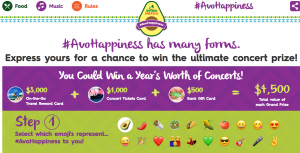 Avocados From Mexico – South by Southwest National – Win 1 of 3 On-the-Go Travel $3,000 Reward Cards plus $1,000 Concert Ticket cards & $500 Bank Gift cards