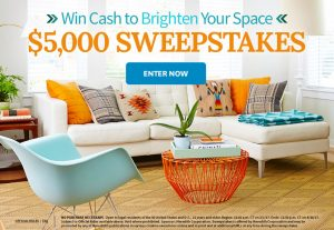 Better Homes & Gardens – Win $5,000 Cash to Brighten Your Space