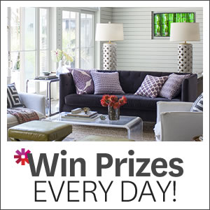 Better Homes & Gardens – Win Daily Prizes until the end of December 2017
