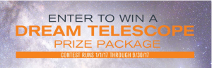 Celestron – Win a fully fitted telescope from Celestron valued at $5,088