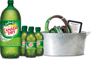Dr Pepper/Seven Up – Canada Dry Rewards – Win a grand prize of 250 $100 Reward Codes OR thousands of minor Reward Codes