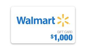 Ellen TV – Win a $1,000 Walmart Gift card