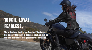 Harley-Davidson Footwear – Win 1 of 12 e-gift certificates valued at $150 each towards the purchase of any merchandise