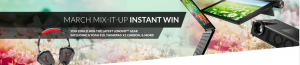 Lenovo – March Mix-It-Up – Win 1 of 2 grand prizes of a Yoga 910 Laptop valued at $1,199 OR 1 of 74 minor prizes