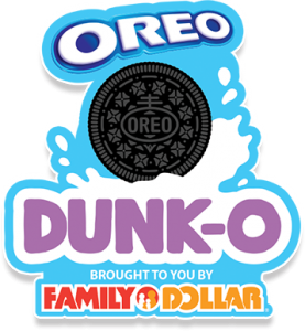Mondelez Global – Oreo Dunk-O Brought To You By Family Dollar – Win 1 of 9 HD TVs valued at $600 each OR 1 of 10 Family Dollar gift cards