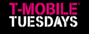 T-Mobile Tuesdays – Week #43 – Win a weekend getaway for 2 to watch their favourite game, show or event OR thousands of minor prizes
