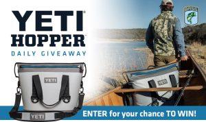 Bassmaster – The Yeti Hopper – Win 1 of 30 Yeti Hopper Two 20 Cooler in Fog Gray valued at $299 each