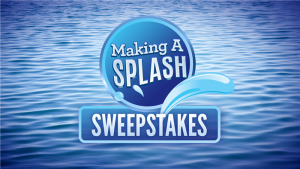 Today's Take – Win A Trip To California or Mississippi with Splash Sweepstakes