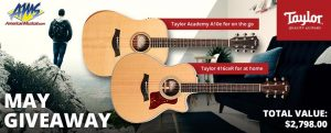 American Musical Supply – Win 2 Taylor Acoustic Electric Guitars valued at $2,798