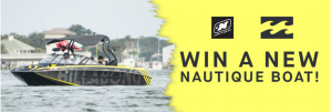 Billabong – Nautique – Win a 2015 Super Air Nautique G23 Boat valued at $150,000 USD