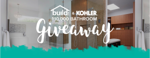 Build.com – Kohler Dream Bath – Win $10,000 retail credit to purchase Kohler bathroom products