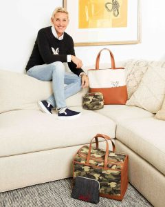 ED Ellen DeGeneres – Win a grand prize to Hollywood to see the Show Live & an Ellen handbag collection