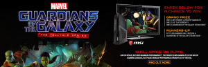 Entertainment Marketing Group – Guardians of the Galaxy: The Telltale Series – Win a grand prize valued at $1,925 OR 50 runner-up prizes