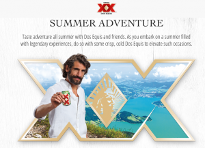 Heineken USA – Dos Equis Summer Can Bucket – Win a trip for 2 to either Riot Rest or the Albuquerque Balloon Festival OR Instant Win Prizes and Weekly Prizes