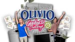 Olivio – The Goodness of Olive Oil – Win $10,000 towards a major Kitchen Appliance set