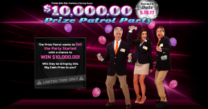 PCH PUblishers Clearing House – Prize Patrol Party – W