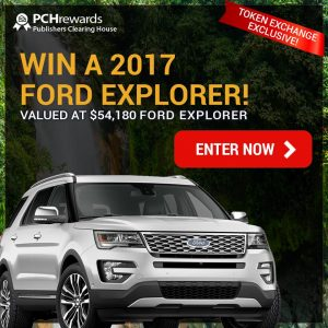 Pch Dream Car >> PCH Publishers Clearing House – Win a new 2017 Ford ...