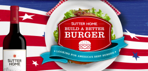 Sutter Home Wnery – Build A Better Burger Recipe – Win a grand prize of $25,000 cash OR other 25 minor prizes