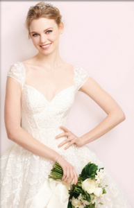 Bridal Guide – Oleg Cassini Cover Gown – Win a $2,000 David's Bridal Gift Card to use for one Oleg Cassini wedding gown