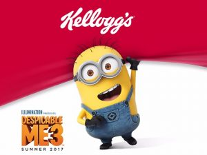 Kellogg's – Despicable Me 3 – Win 1 of 500 Fandango Movie Tickets valued at $16 each