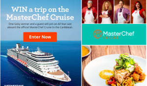Meredith – FamilyCircle – The Sail Away with MasterChef – Win a cruise for 2 on the MasterChef Cruise to the Caribbean
