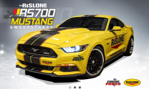 RTM Productions – Rislone RS700 Mustang – Win a 2016 Ford Mustang with performance upgrades valued at $36,000 USD