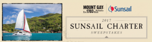 Remy Cointreau – Mount Gay Summer Sunsail – Win a trip for 2 to the British Virgin Islands valued at $17,000