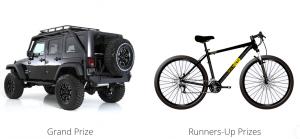 Rockstar – Summer of Adventure – Win a 2017 Jeep Wrangler Rubicon OR 1 of 100 Rockstar Mountain Bike