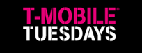 T-Mobile Tuesdays Week #55 Game – Win a grand prize valued at $1,141 OR 1 of 1,100 minor prizes