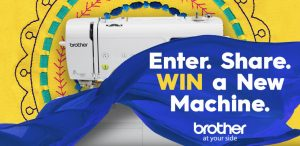 Brother International – New for 2018 Teaser – Win 1 of 3 Brother Sewing & Embroidery machines OR 1 of 3 Disney Thread Kits